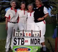 STELLENBOSCH DAMES-SPAN WEN DIE 2019-2020 PERSONAL TRUST SULLY-BEKER KOMPETISIE   /  STELLENBOSCH WOMEN'S TEAM WINS THE 2019-2020 PERSONAL TRUST SULLY CUP COMPETITION